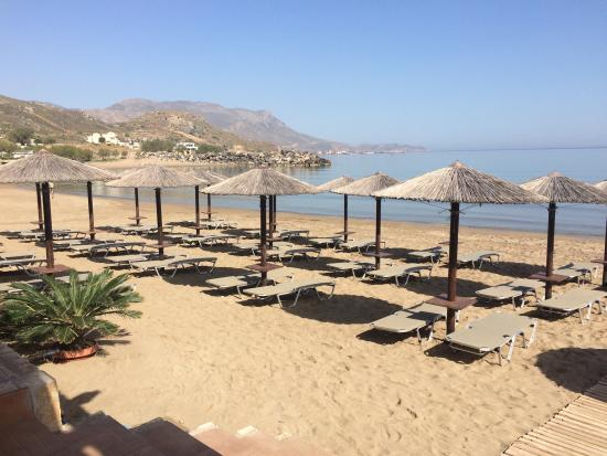 Mavros Molos Beach: Sea view