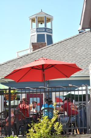 The Inn on Madeline Island: The Pub's patio