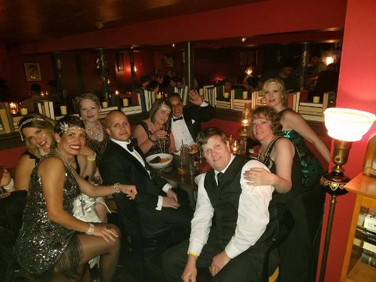 Bethlehem, PA: Great time with family & new friends from Roaring 20s Ball visiting the Speakeasy