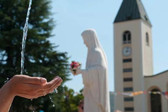 Medjugorje Tours & Travel Day Tour : Gospa is the center of our work