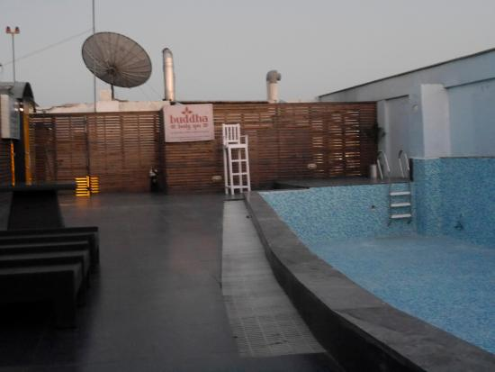 Ramada Gurgaon Central: The out of order swimming pool