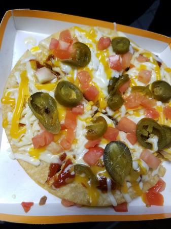 Washington, PA: Mexican pizza with added jalapeños