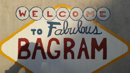 Bagram, Afghanistan: It's almost like Vegas...without the gambling, alcohol, and great accommodations!