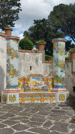 Museo provinciale della Ceramica: In una stupenda villa con una vista mozzafiato  un Museo altrettanto strepitoso: le ceramiche vi