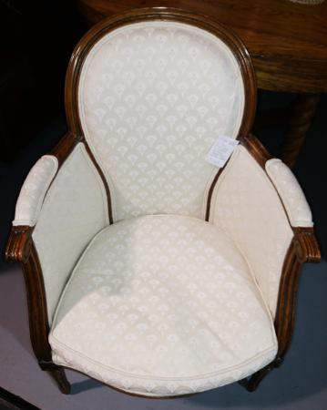 Heritage Square Antique Mall  Queen Anne Upholstered ChairQueen Anne Upholstered Chair   Picture of Heritage Square Antique  . Antique Queen Anne Upholstered Chairs. Home Design Ideas