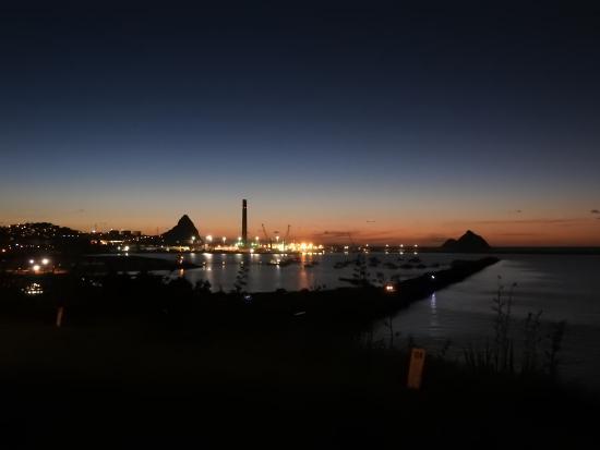 New Plymouth, Nouvelle-Zélande : Port Taranaki