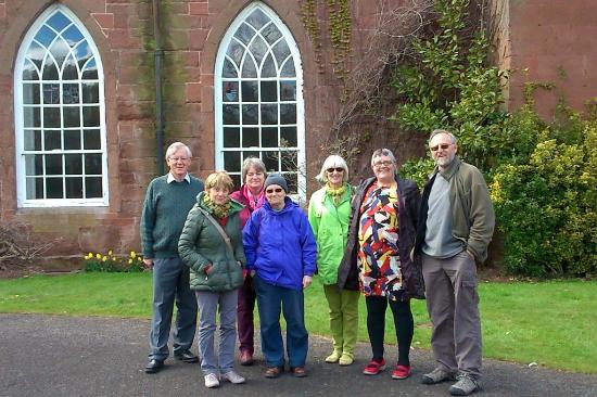 Hartlebury, UK: Our group in the carriage circle