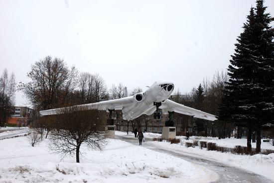 Monument-Airplane Tu-16