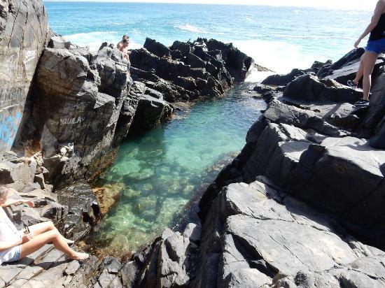 Noosa, Australien: Fairy pool (Small)