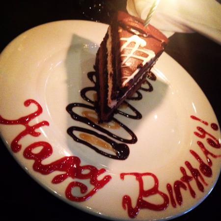 Superb Birthday Cake Slice Picture Of Texas De Brazil Palm Beach Personalised Birthday Cards Veneteletsinfo