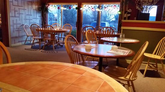 Essex, Vermont: The large dining room.