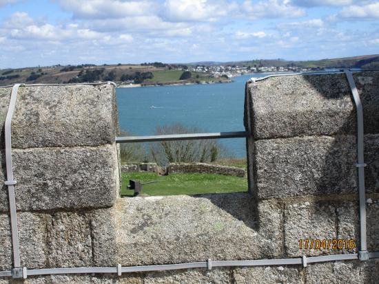 Falmouth, UK: View from the Fort