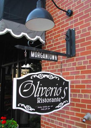 Morgantown, Virginia Occidental: Oliverio's Ristorante