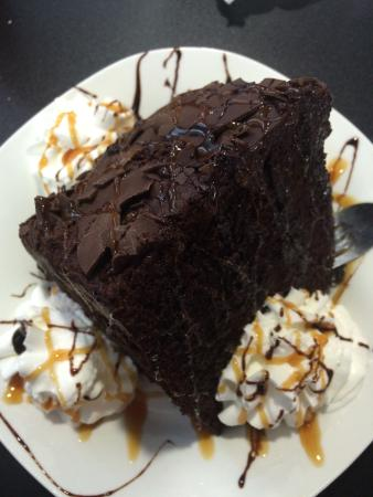 Marcellus, NY: Chocolate Cake - Their desserts are amazing and huge portions!