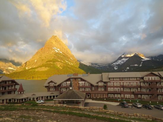 Many Glacier Lodge-billede