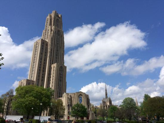 Cathedral of Learning: Amazing building