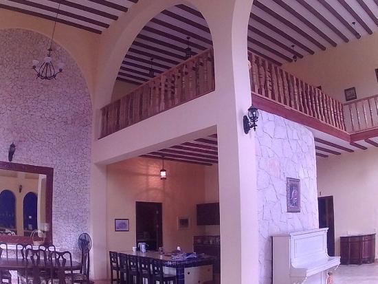 Yucatán, México: Interior, sala, cocina, hall
