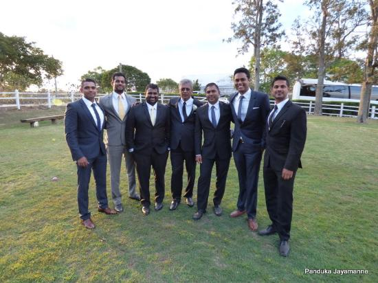 Tamborine, Australia: Some of the guests at the wedding