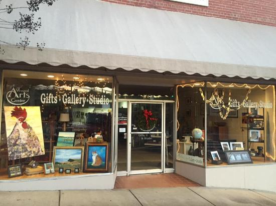 Rutherfordton, Carolina del Norte: Handmade items by local artists