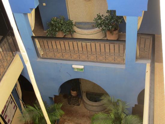 Riad La Rose Du Desert: Vue du 2e étage