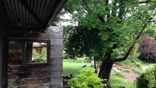 Boonville Hotel: View from Casita porch