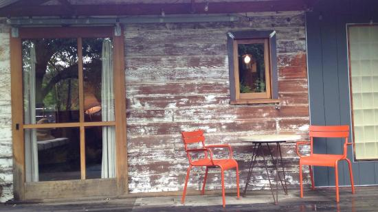 Boonville, CA: Casita porch