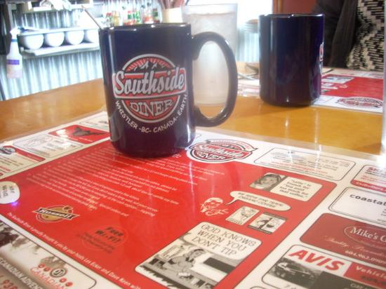 The Southside Diner: Delicious coffee in a big ass mug served with a side of sass - just the way you like it.