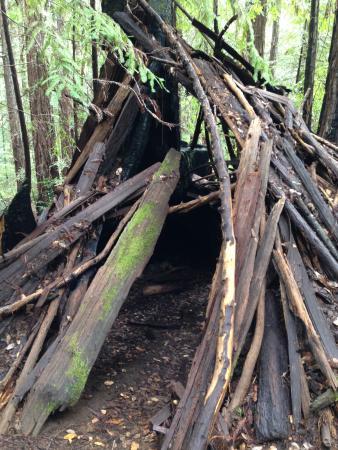 Boonville, Californië: Hermit hut