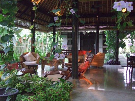 Villa Puri Darma Agung : Lounge area