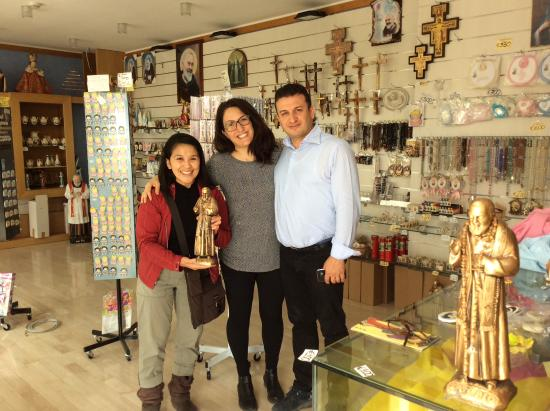 The Gift Shop Thank You For My Bronze Padre Pio Made