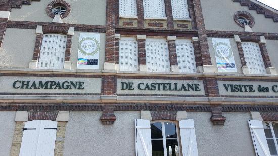 Épernay, Frankrike: La visite de la maison de champagne Castelane