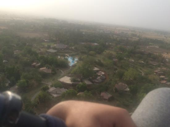 Westin Sohna Resort and Spa: Bird eye view of the resort