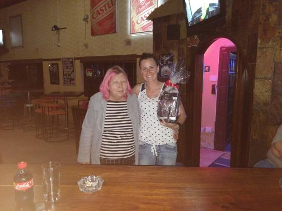 Ramsgate, Sudáfrica: Our Jagermeister hamper winner, our SA bowling competition add, boke week parties with our frien