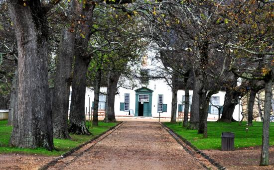 Main house of Groot Constantia, Cape Town, South Africa