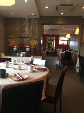 Hôtel Aux Terrasses : Nice hotel good breakfast !