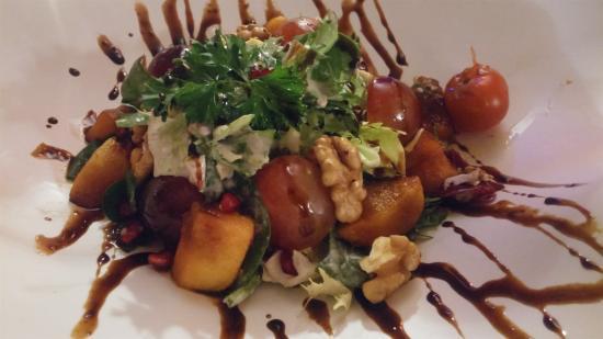 Benahavis, Espanha: Plato vegetariano