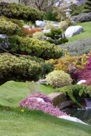 Chatillon-en-Michaille, Francia: Le jardin