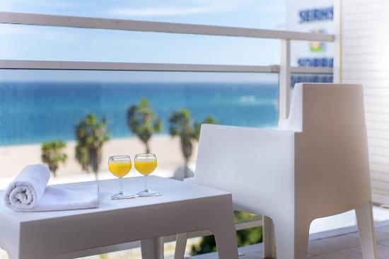 Hotel Sorra Daurada Splash : Sea view Room