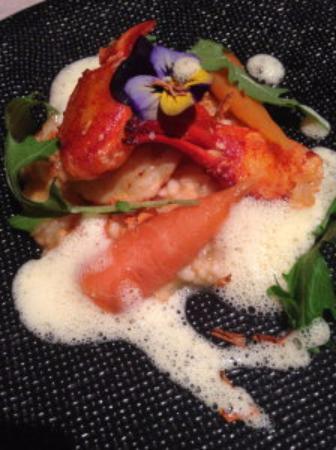 Bel Horizon : homard et risotto de carotte, divin