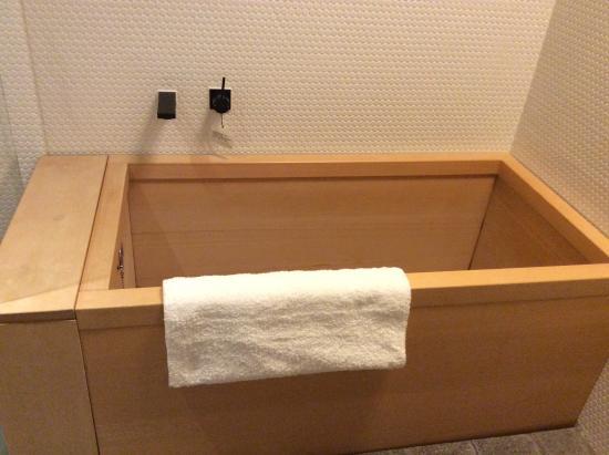 Hotel Kanra Kyoto: 檜風呂