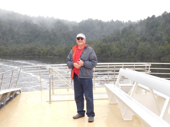Strahan, Austrália: Start of Gordon River Gorge area