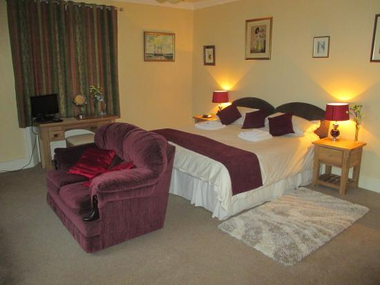 Thornthwaite Grange: Haystacks double room