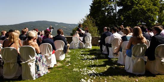 Gambassi Terme, Italia: sposi