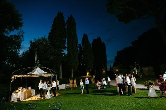 Gambassi Terme, Italia: di notte