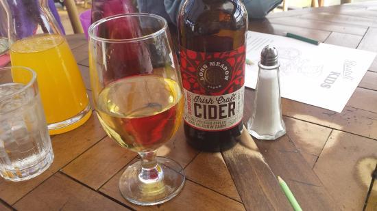 Portballintrae, UK: local cider