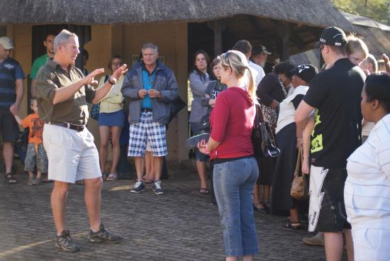 Southbroom, Republika Południowej Afryki: Informative talks about crocs and snakes and reptiles