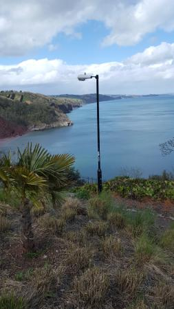 The Downs, Babbacombe: View from Room 4 across Babbacombe Bay