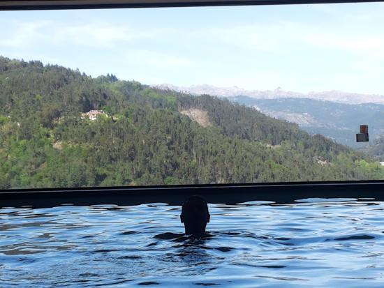 Aquafalls Spa Hotel : Heated swiming-pool