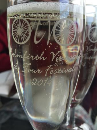 Glass Of Bubbly To Start The Afternoon Tea Tour De France Glasses
