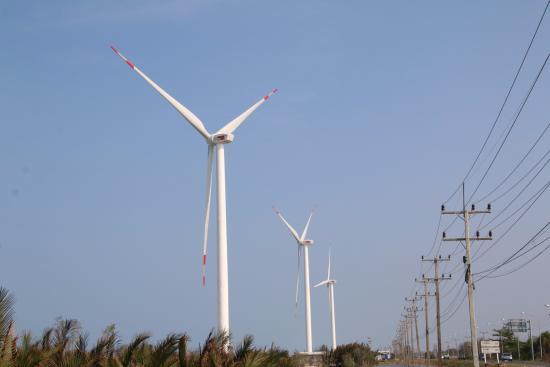 Pak Phanang, Thailand: พลังลมพลังไฟฟ้า